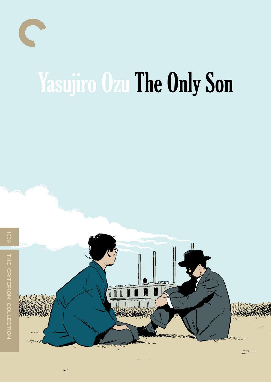 Adrian Tomine covers Yasujiro Ozu for The Criterion Collection