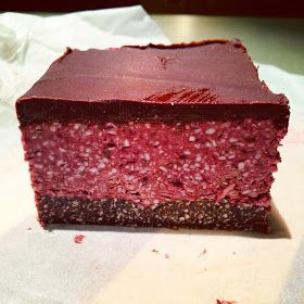 I adapted this recipe from Live, Love, Eat Raw . I made a few changes (mainly with the topping) so I've re-written my version of the re...