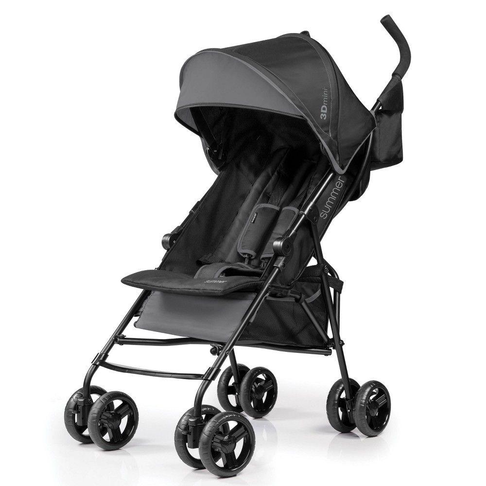 Summer Infant 3Dmini Convenience Stroller Gray