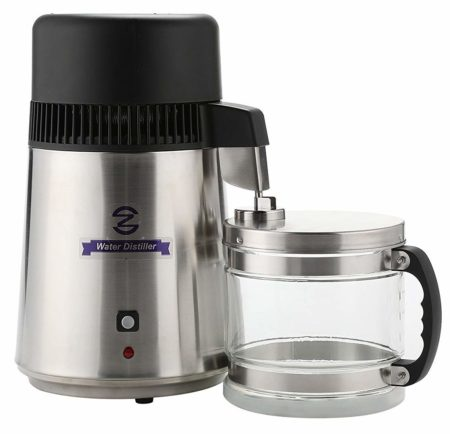 Best Water Distillers In 2020 Reviews Countertop Water Filter Brushed Stainless Steel Cookware Set Stainless Steel