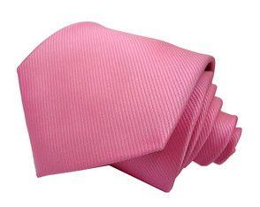 Gravata Rosa Texturizada