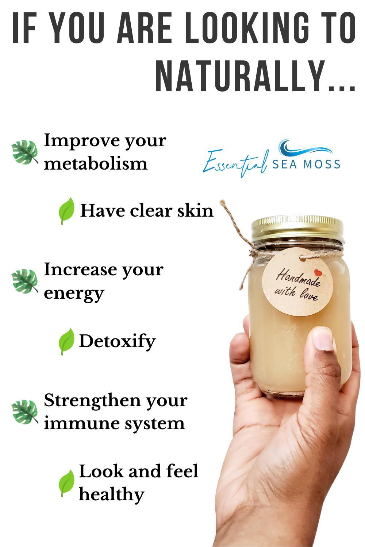 Pin On Sea Moss Health Benefits