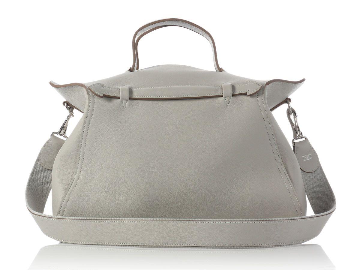 9613d5f8d Hermes Oxer bag in Gris Perle | Bags | Hermes handbags, Hermes bags ...