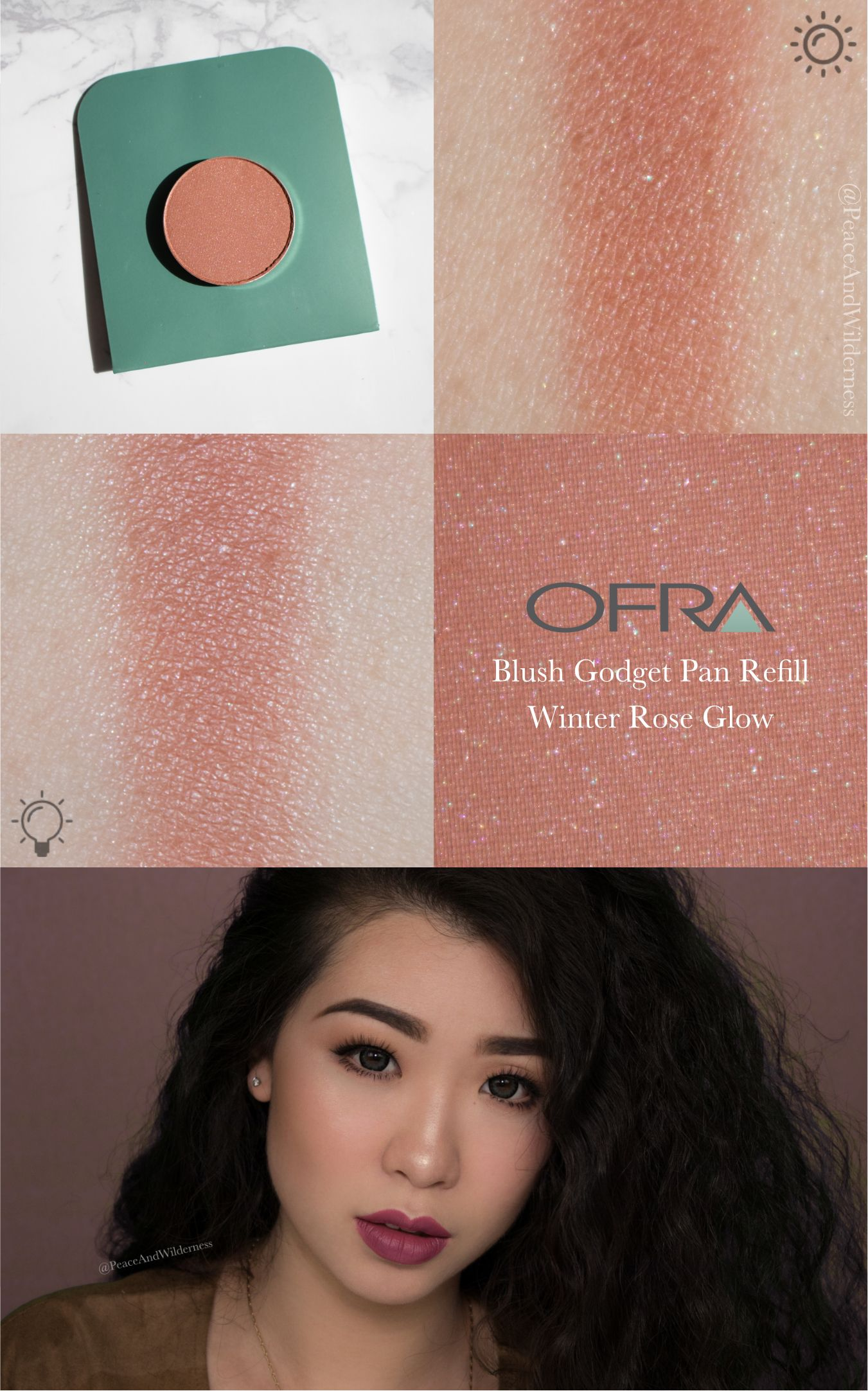 3D Pyramid Blush by ofra #12