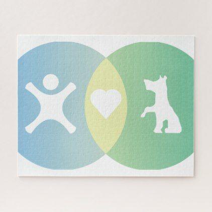 People Heart Dogs Venn Diagram Jigsaw Puzzle Pinterest Venn Diagrams