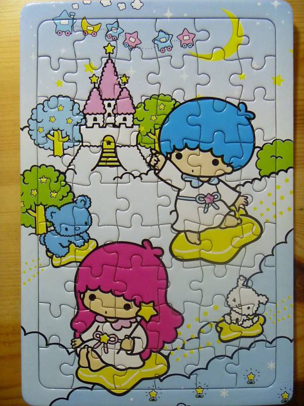 【????】54 Piece Jigsaw Puzzle ★Little Twin Stars★