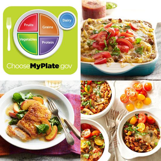 Myplate dinner recipes pinterest food groups healthy dinner each dinner idea provides multiple food groups and suggestions for foods to serve with each recipe to include all five forumfinder Gallery