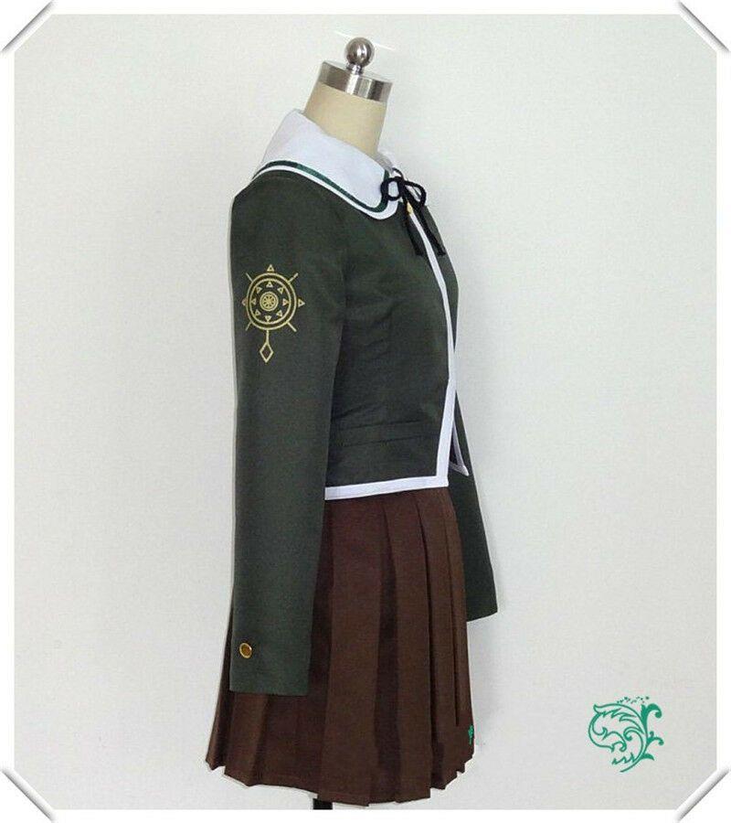 Besutifu Dangan Ronpa Fujisaki Chihiro Cosplay Costume Dress Full Suit Uniform