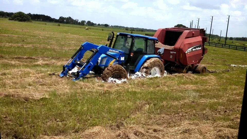 Stuck New Holland Fwd Tractors New Holland Fwd