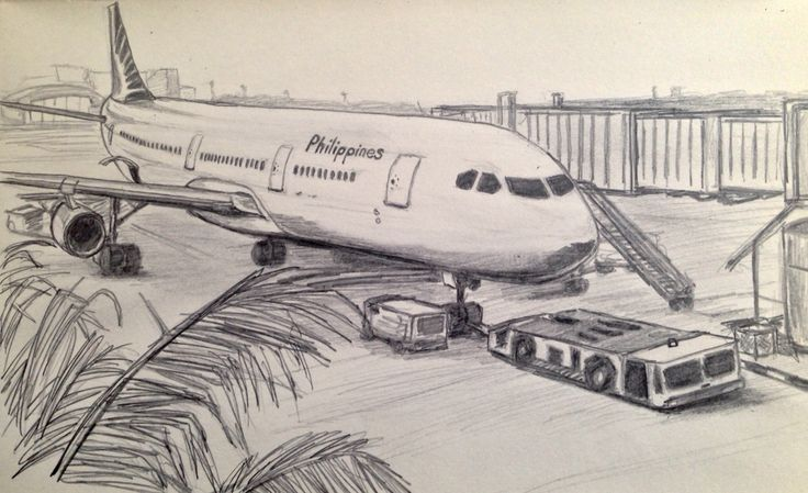 Airport Drawing Google Search Airplane Drawing Drawing