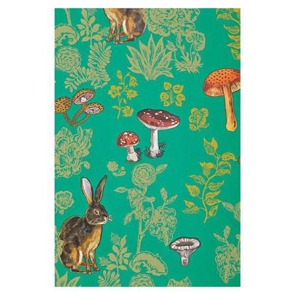 Nathalie Lete - Mushroom Forest Wallpaper
