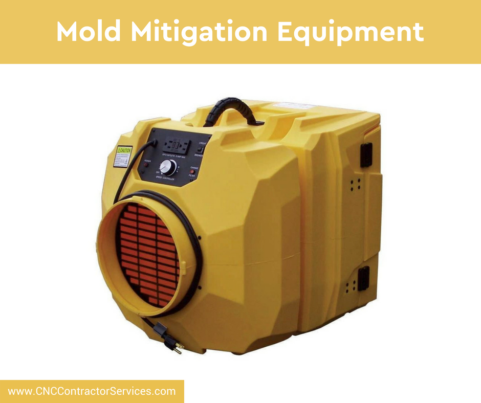 Ever wonder what kind of equipment mold experts use to do