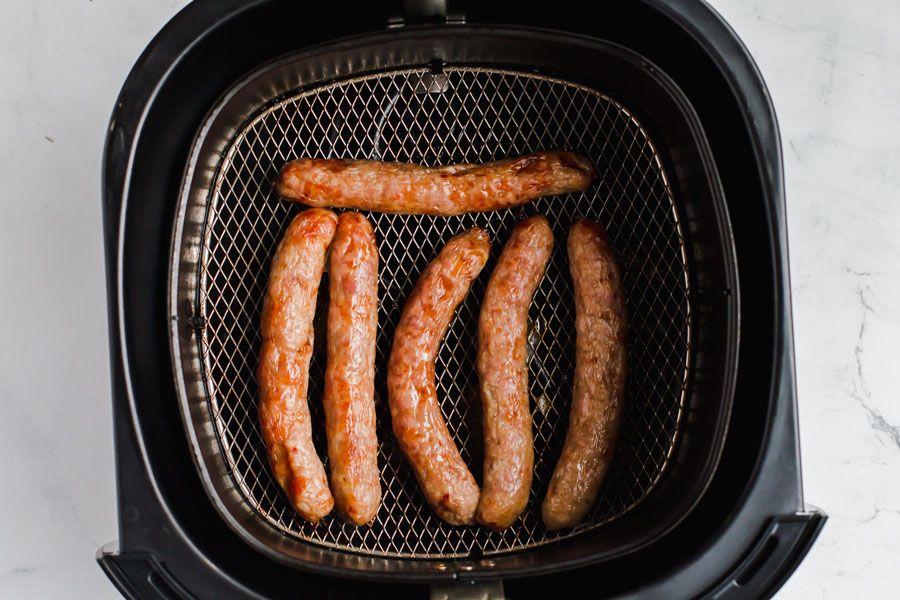 Air fryer breakfast sausage 4g net carbs ketofocus