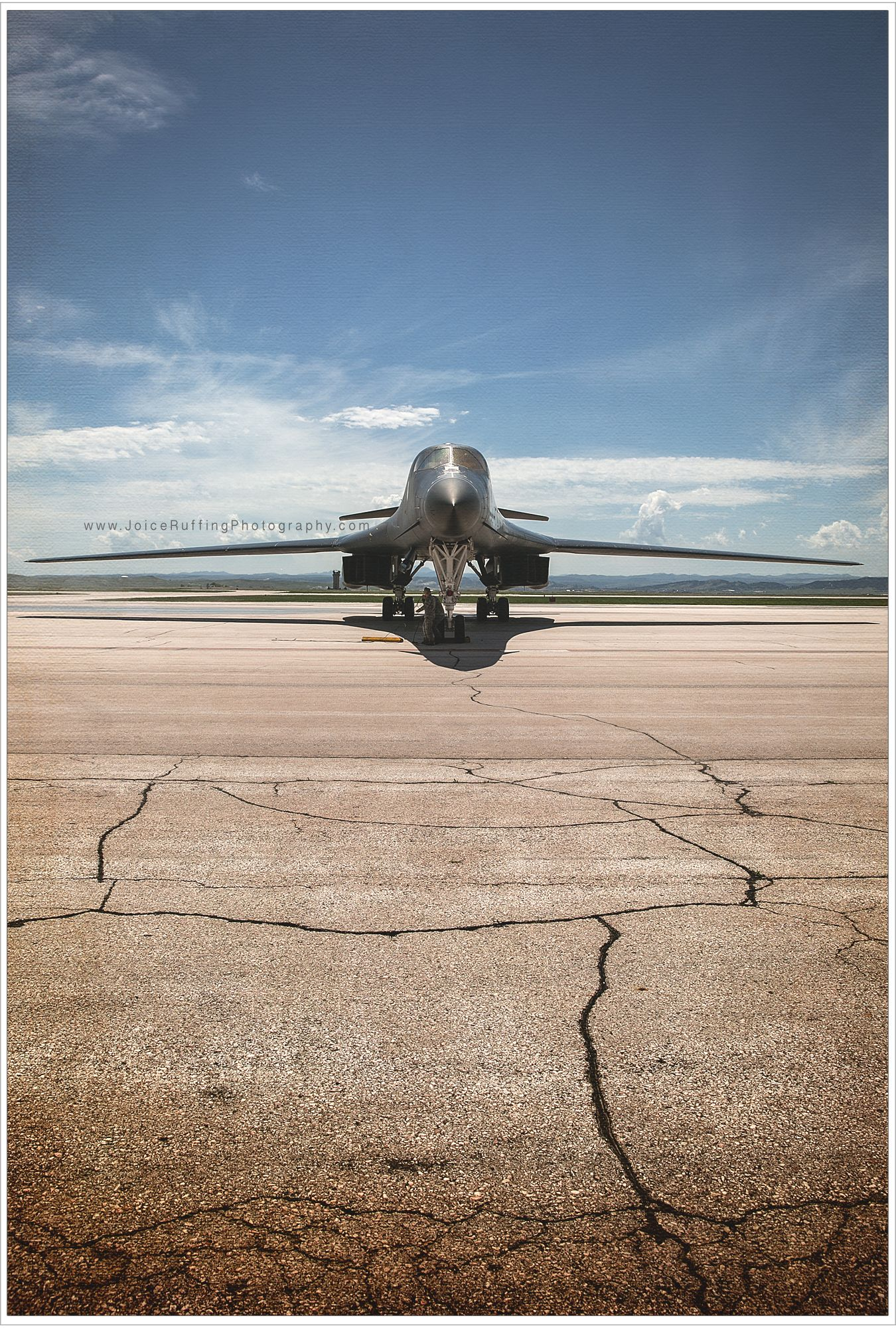 B1 Bomber, Air Force B1B Black Hills Rockwell B1