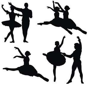 silhouettes to use in around my nutcracker tree welcome christmas rh pinterest com au nutcracker ballet clipart