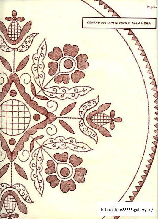 49) Gallery.ru / Фото #18 - 223 - Fleur55555 | patrones bordados ...