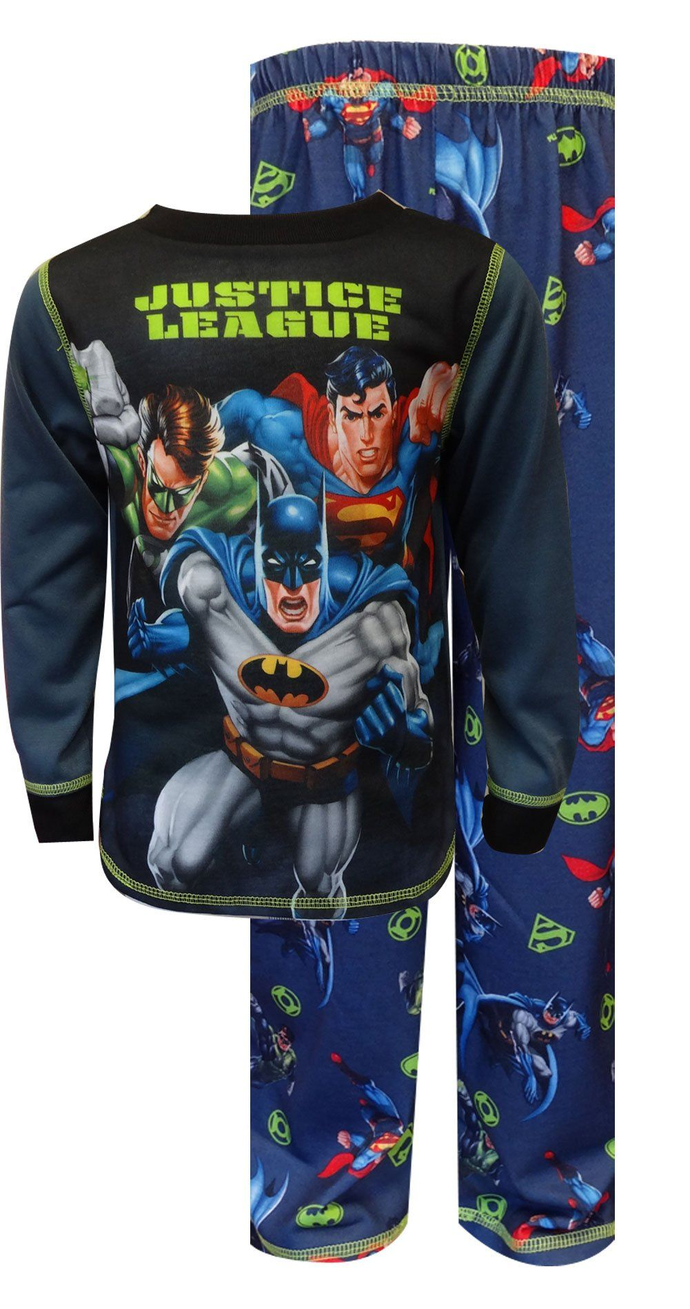 Komar Kids Little Boys Justice League 2 Piece Sleep Set Dark Gray Small Be Sure To Check Out This Awesome Product It Justice League 2 Sleep Set Little Boys