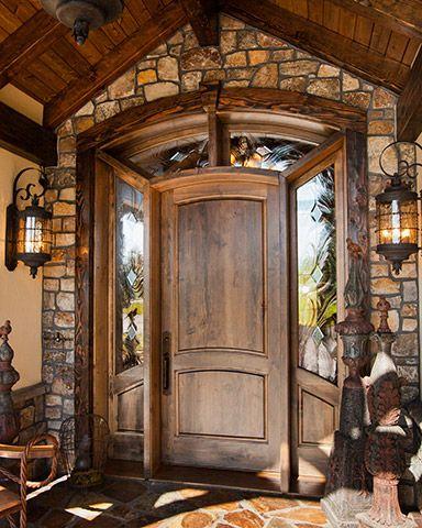 Photo of Entry door from PineDoor.com