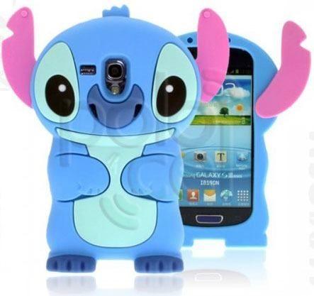 Funda Silicona 3d Stitch Stich Samsung Galaxy S3 Mini I8190 en Villa ....