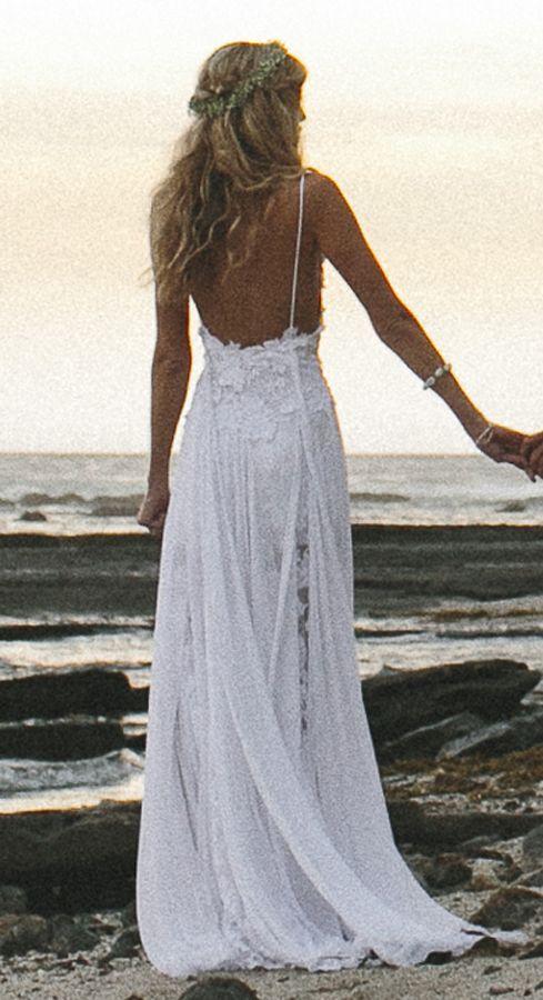Beach Wedding! Grace Loves Lace - Hollie Dress: