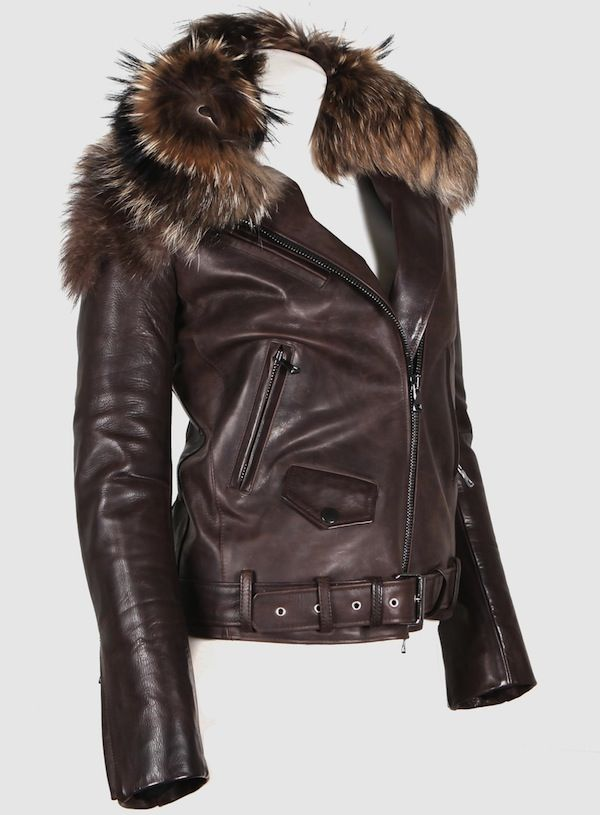 Leather Jackets With Fur Photo Album - Fashion Trends and Models