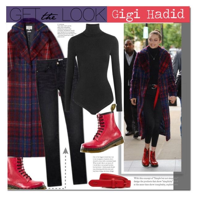 """Gigi Hadid"" by mery90 ❤ liked on Polyvore featuring Lacoste, GetTheLook, StreetStyle and CelebrityStyle"
