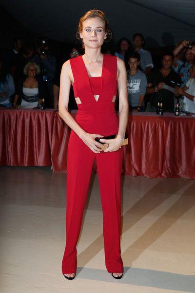 Diane Kruger in Cushnie et Ochs- Opening Dinner at the 72nd Venice Film Festival