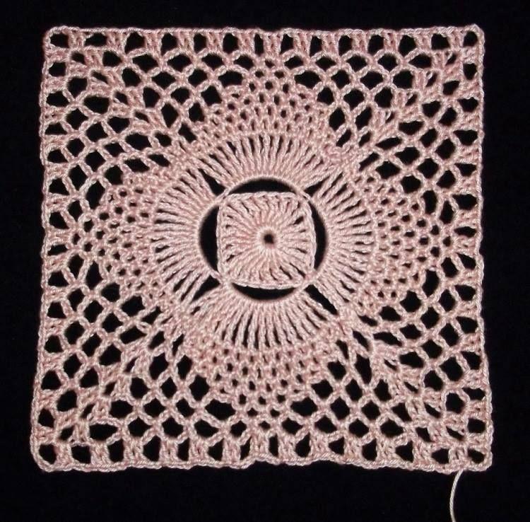 Increíble Patrón Falda Crochet La Colmena Libre Motivo - Manta de ...