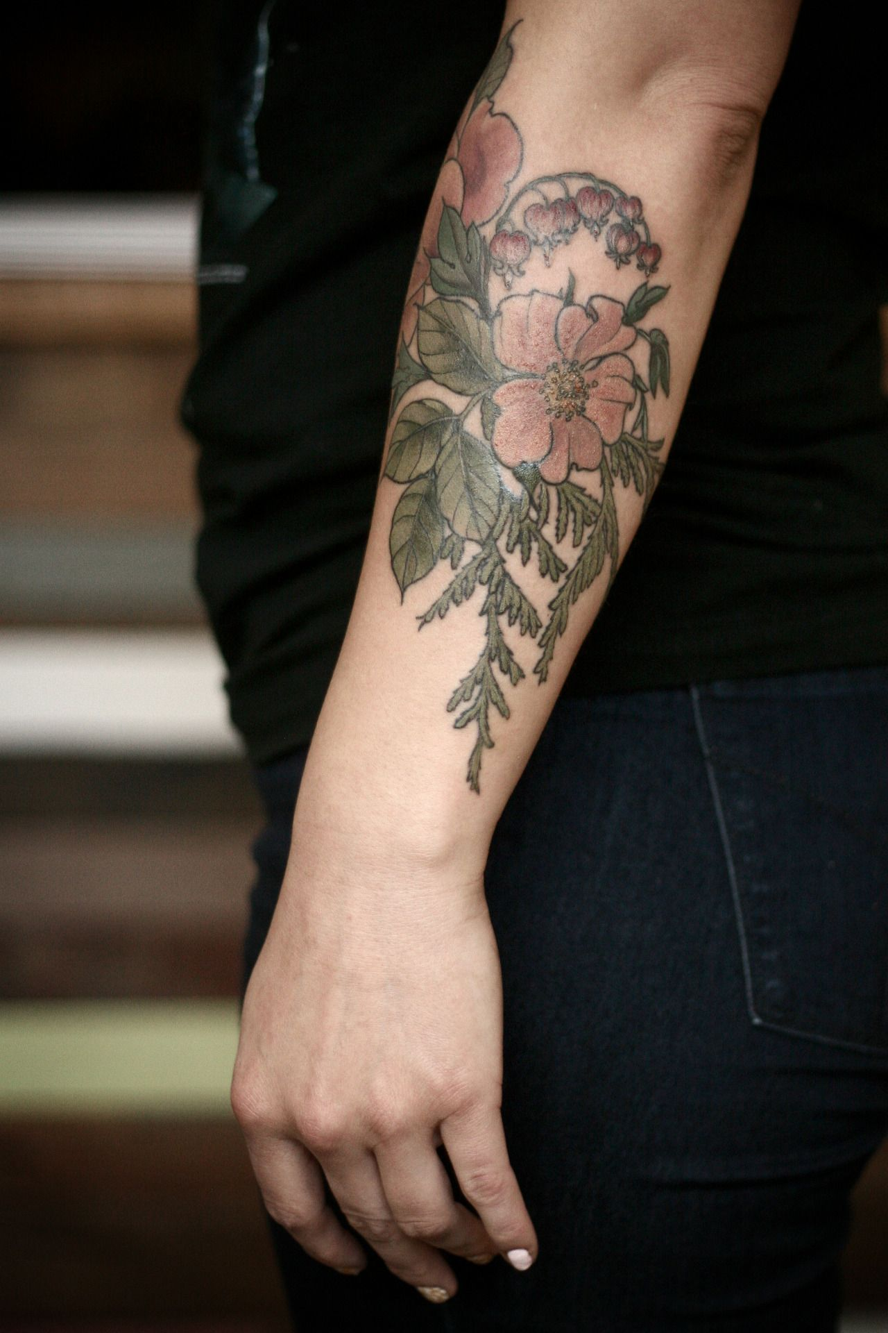 alice carrier Wonderland tattoo, Botanical tattoo, Tattoos