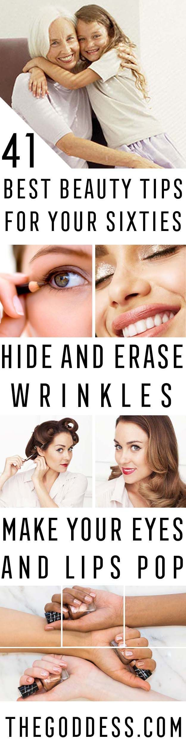 Best Beauty Tips For Your 60s Healthy Skin Care Tips For