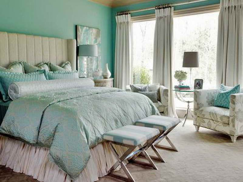 Vintage Beach Cottage Bedroom Decor | Cottage Bedroom Decorating Ideas With  Blue Theme
