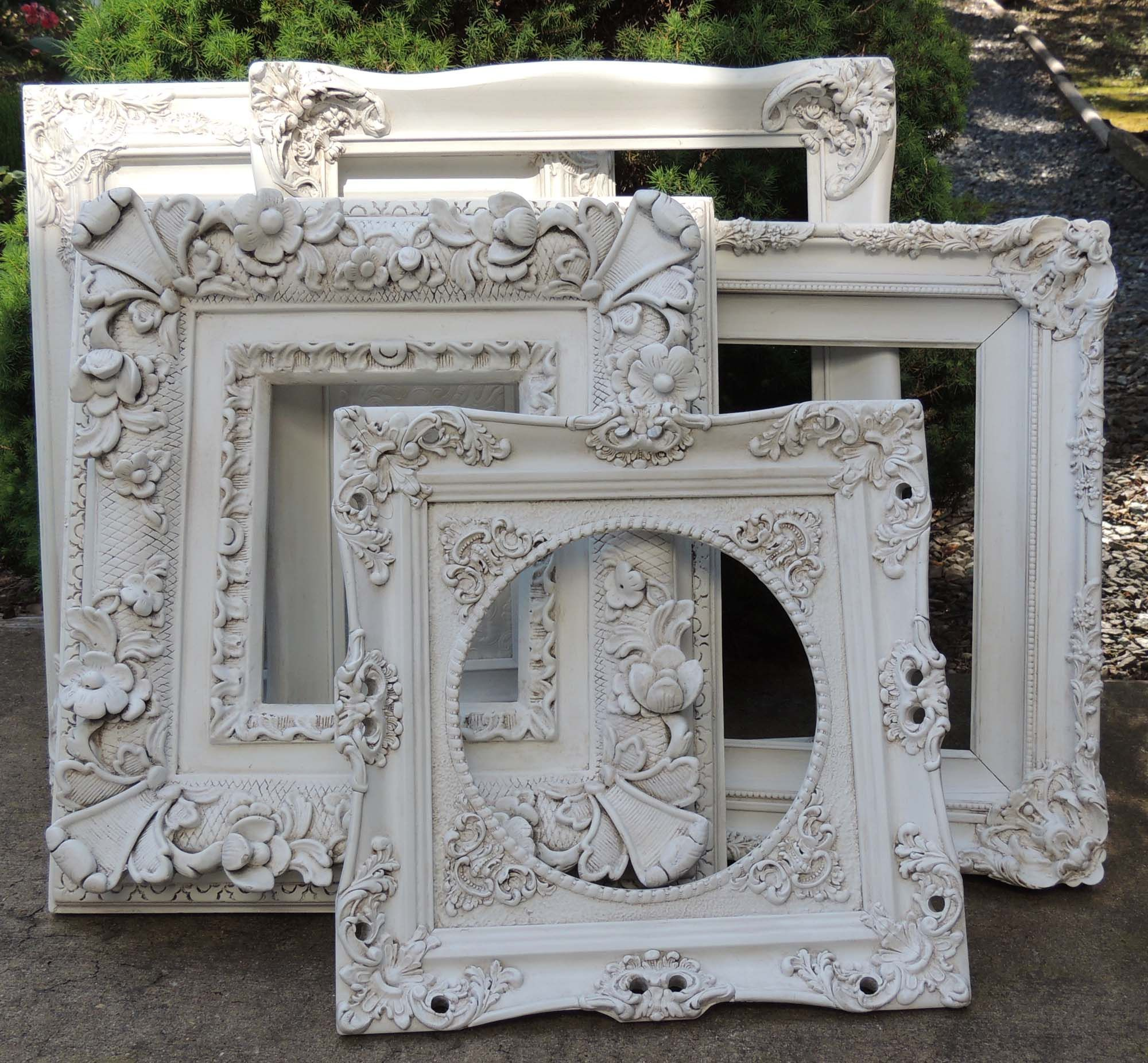 Beautiful Ornate Vintage Picture Frames Perfect For French Country, Cottage,