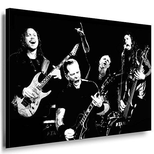 metallica leinwand bild 100x70cm k. poster ! bild fertig