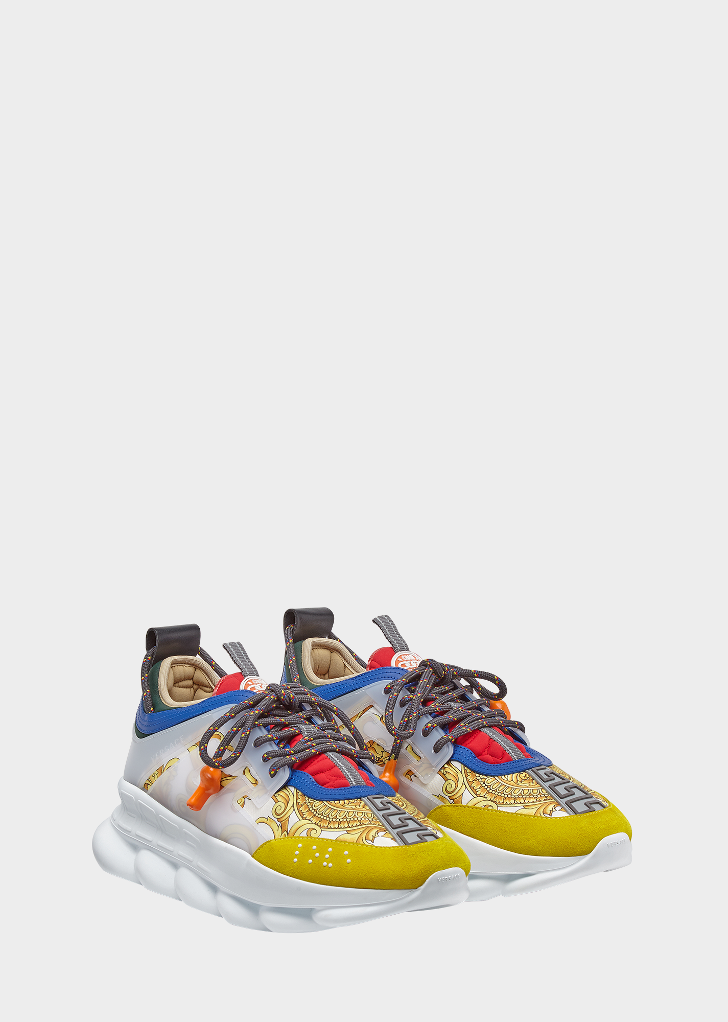 8b3b0eac24 VERSACE Chain Reaction Sneakers. #versace #shoes | Versace in 2019 ...