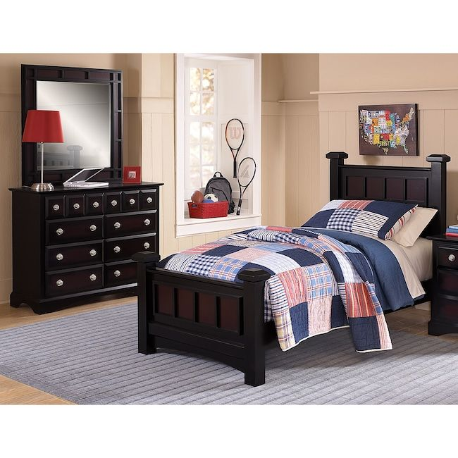 Winchester 5 Piece Queen Bedroom Set: Winchester 5-Piece Full Bedroom Set