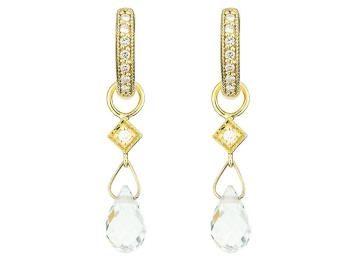 briolette diamond gold earrings - Buscar con Google