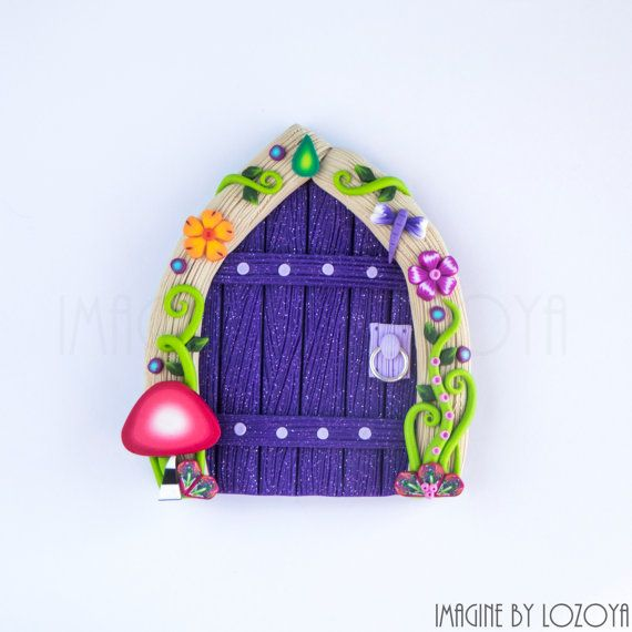 Fairy Door Model Camelia // Puerta de hadas por imaginebylozoya