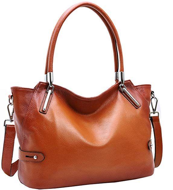 3023d6d94ed0 Heshe Womens Leather Handbags Tote Top Handle Bag Hobo Fashion Shoulder Bag  Ladies Designer Purse Cross-body Bags Review