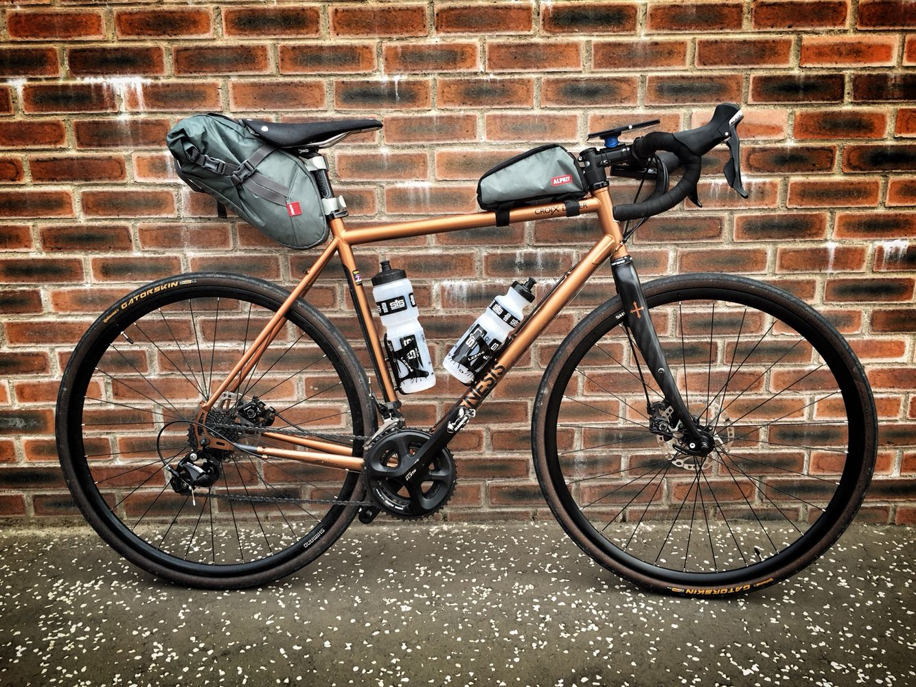 Genesis Croix De Fer Adventure Bike Bike Camping Gravel Bike