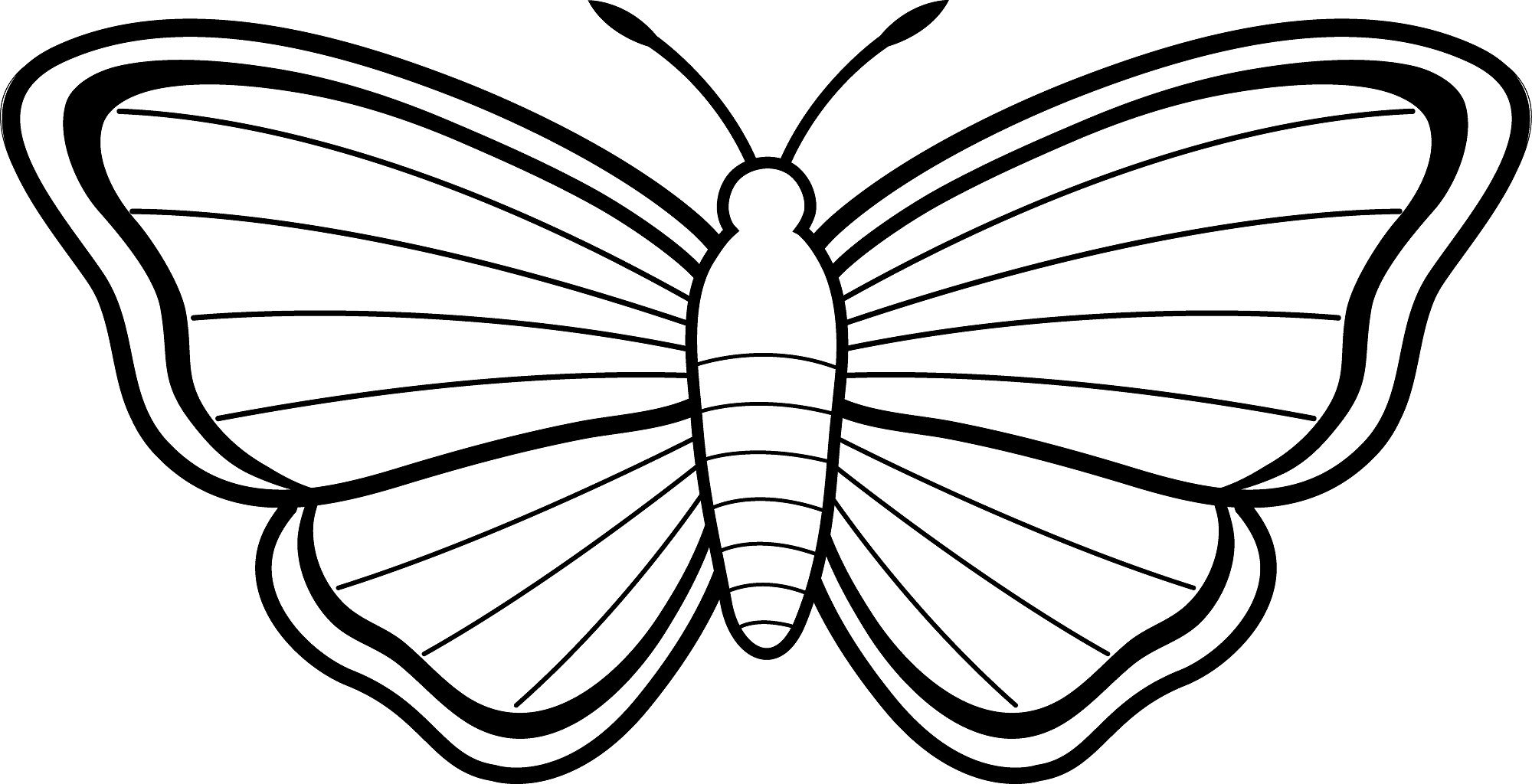 Free printable butterfly coloring pages for kids butterfly kids