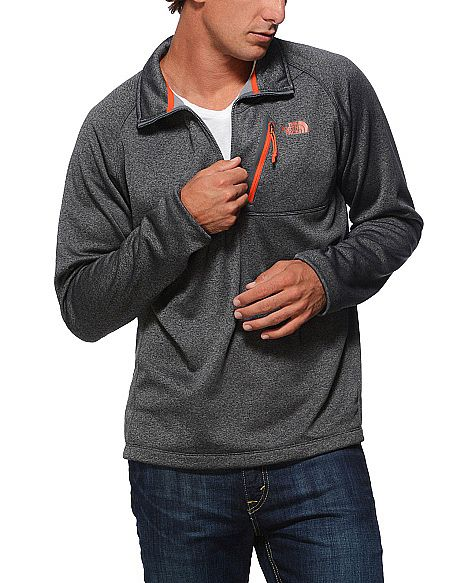 The North Face 'Canyonlands' 1/4 Zip Grey Pullover