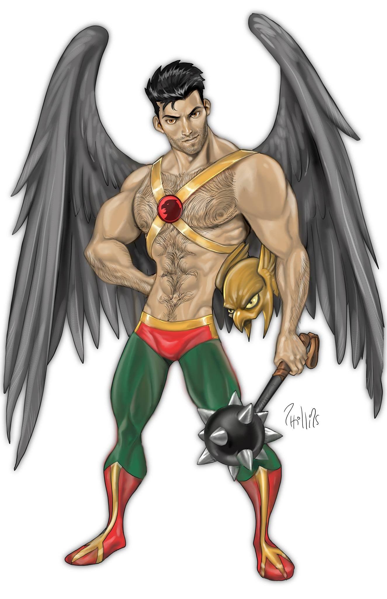 gay hero drawings
