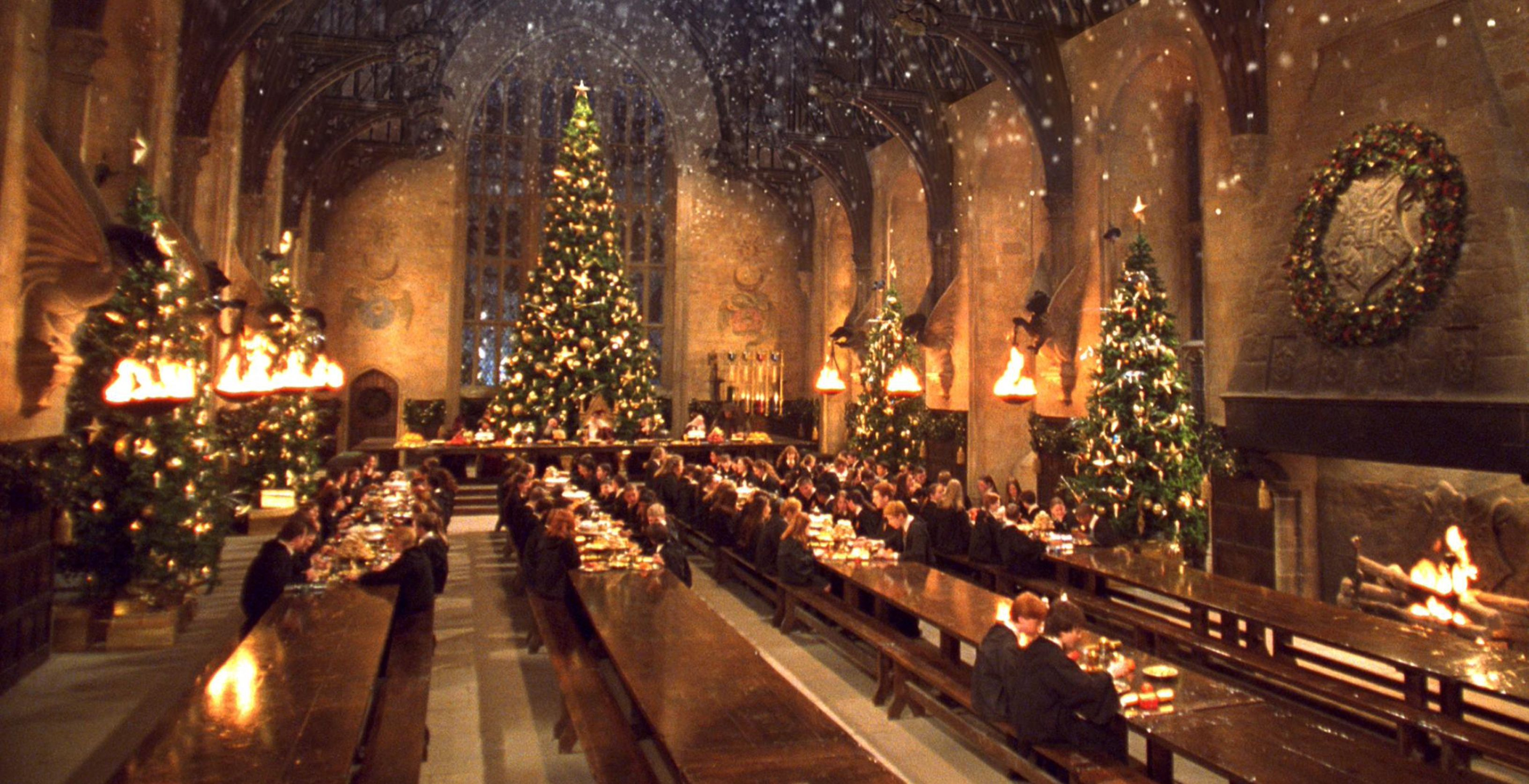 Enter For Your Chance To Win A Trip To The Making Of Harry Potter Warner Bros Studio Tour Chip And Company Hogwarts Christmas Harry Potter Christmas Scene Harry Potter Warner Bros