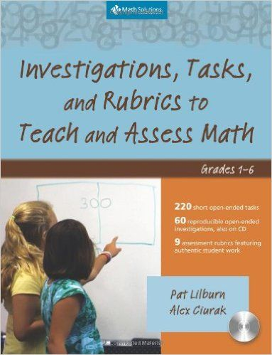 Amazon.com: Investigations, Tasks, and Rubrics to Teach and Assess ...