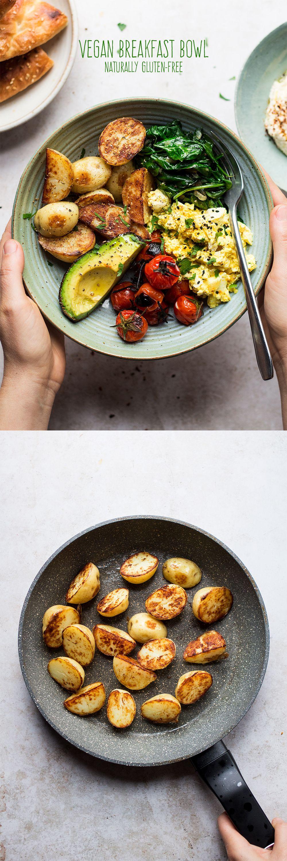 Savoury vegan breakfast bowl Recipe Vegan breakfast