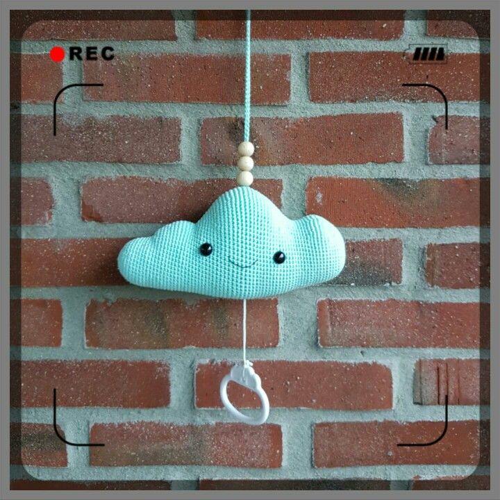 Muziekdoosje Wolk Crochet Amigurumi Leuk Pinterest