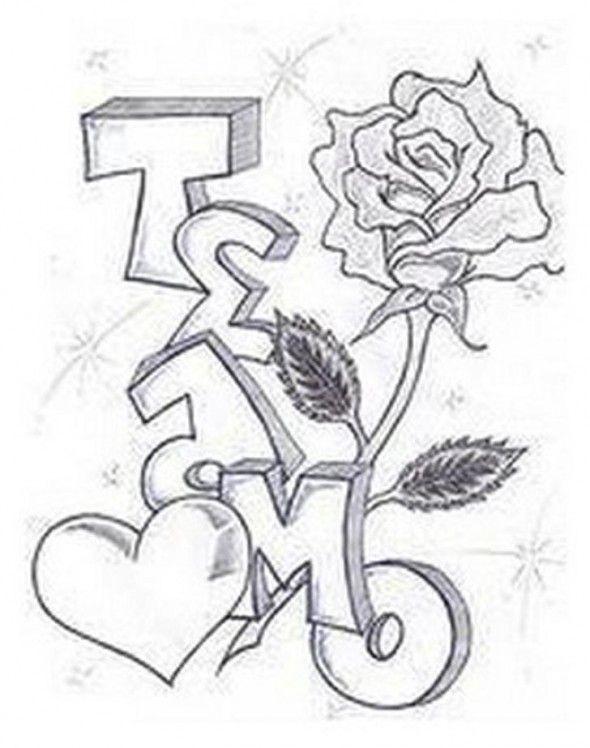 Gangster Love Drawings : gangster, drawings, Daisy, Shorty, Drawings,, Graffiti, Lettering,, Drawings, Boyfriend