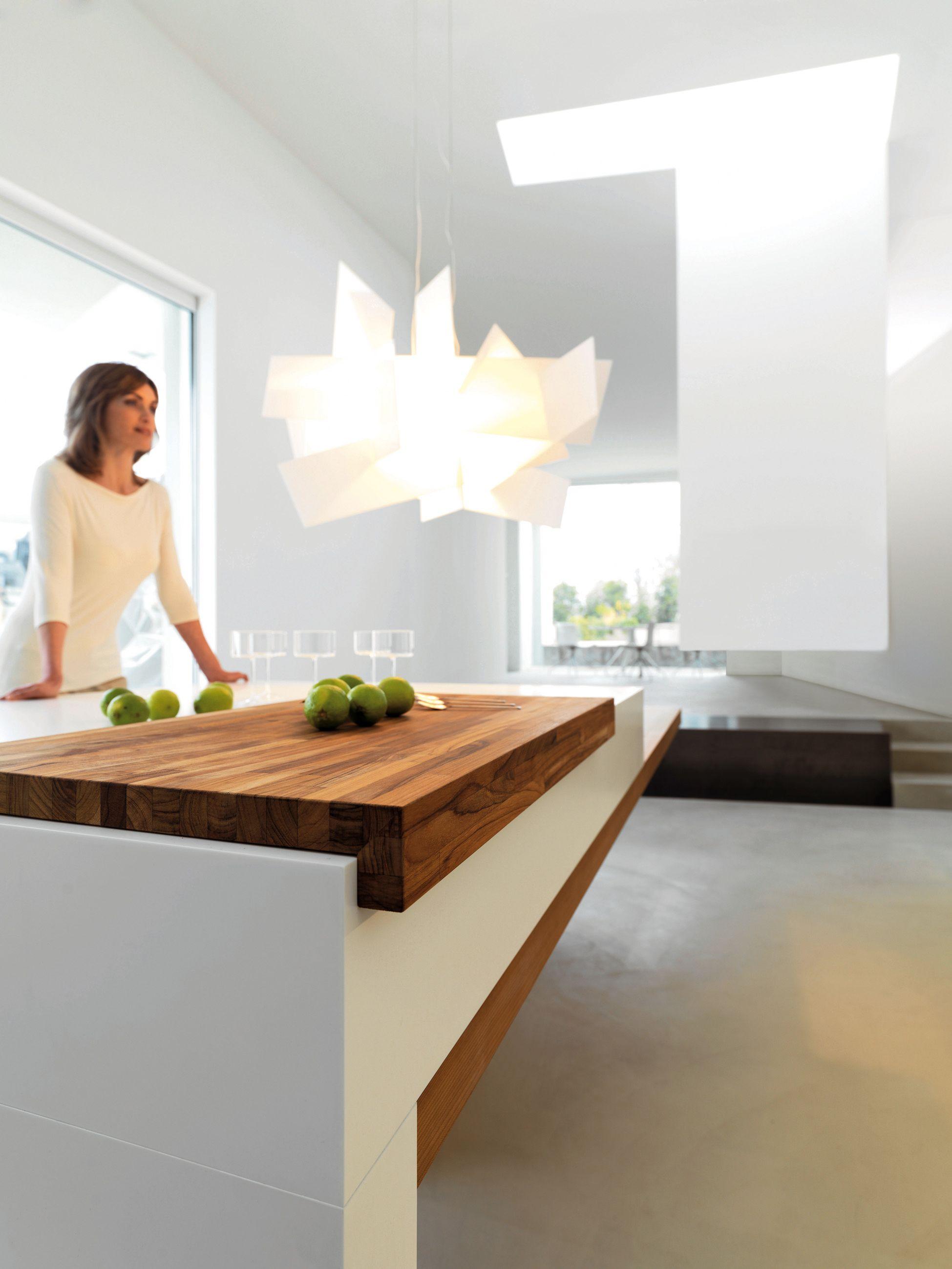 Snaidero Kube Kitchen Wood Furniture Biz Contemporary Kitchen Design Kitchen Island Bench Kitchen Design Modern Contemporary