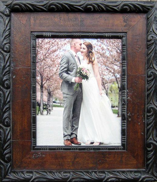 Custom Framed Wedding Portrait A Great Way To Remember Your Special Day Wedding Customframing Wedding Frames Frame Anniversary Frame