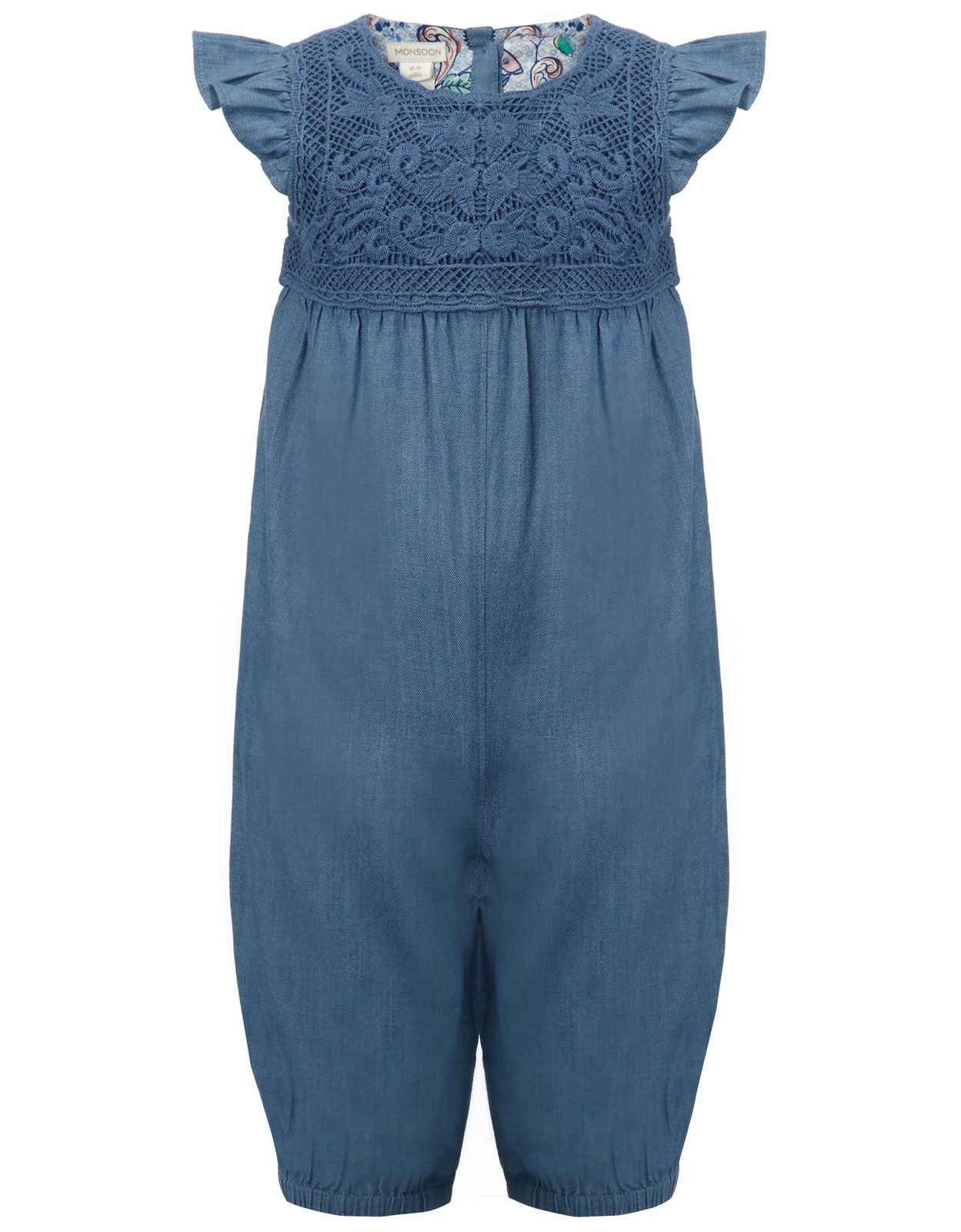 Baby Chambray Playsuit